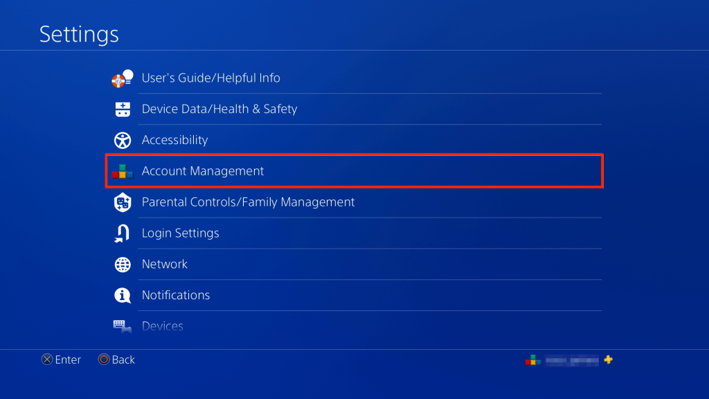 go to account management to cancel PlayStation Vue