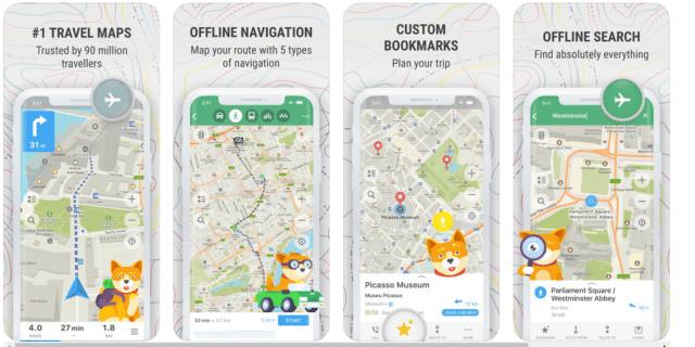 Maps.me - Best Navigation Apps