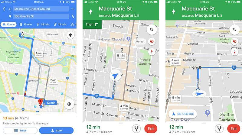 Google Maps is the best Navigation App for Android