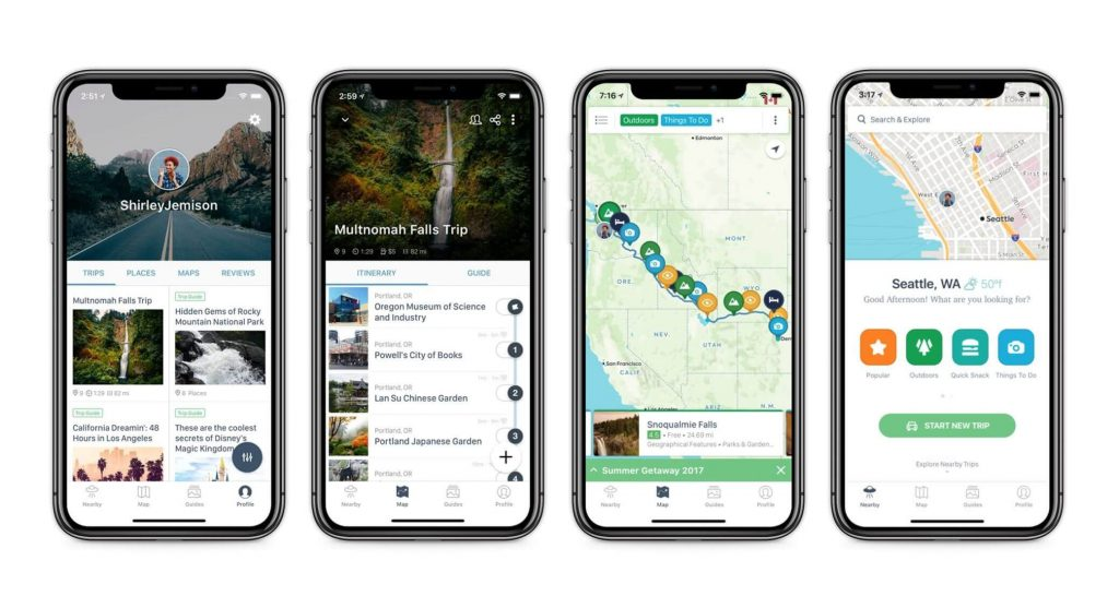 Roadtrippers is the best Navigation App for Android