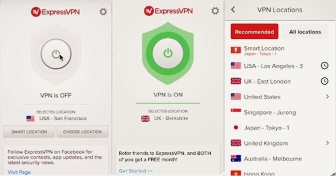 Express VPN is a best VPN for Apple TV