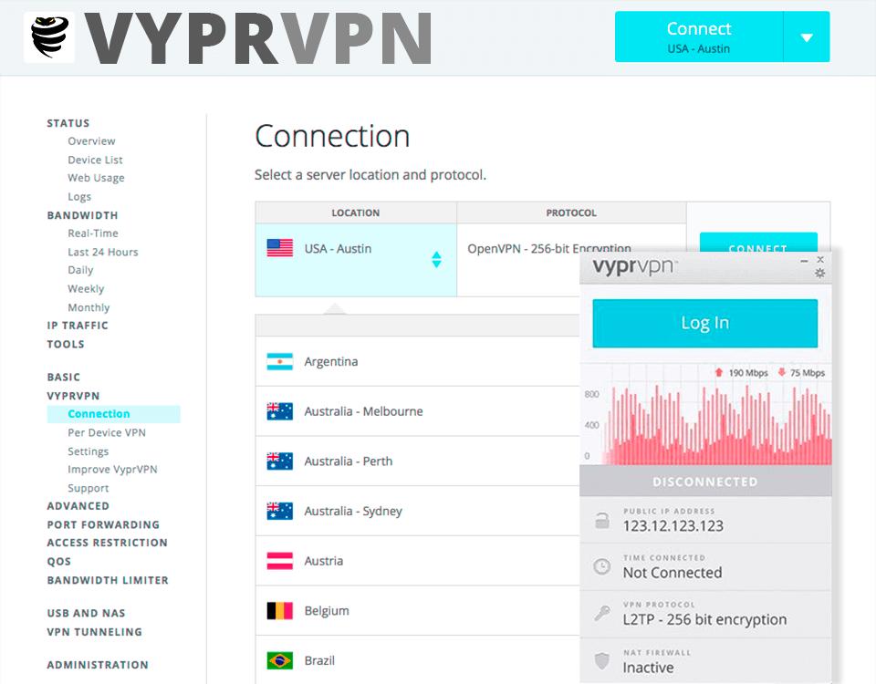 VyperVPN is a best VPN for Apple TV