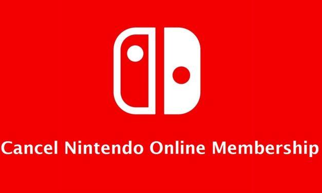 How to Cancel Nintendo Online Membership [2 Easy Ways]
