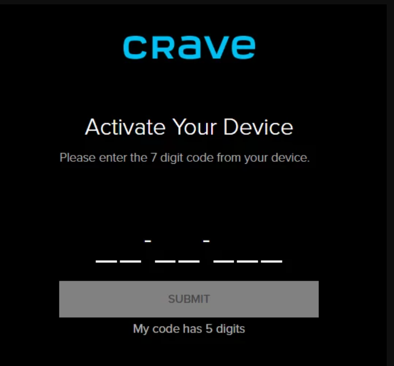 Install and activate Crave on Apple TV