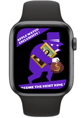 Pocket Bandit is one of the best games for Apple Watch