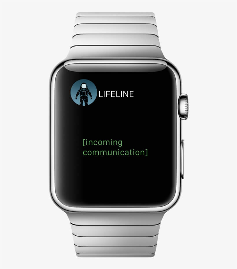 Lifeline  is one of the best games for Apple Watch