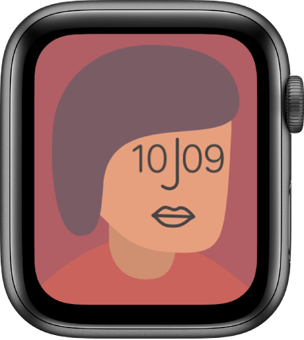 Artist is one of the best watch faces for Apple Watch