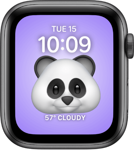 Memoji is one of the best watch faces for Apple Watch