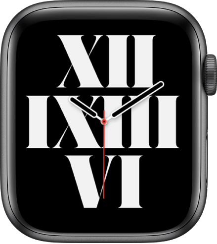 Typograph is one of the best watch faces for Apple Watch