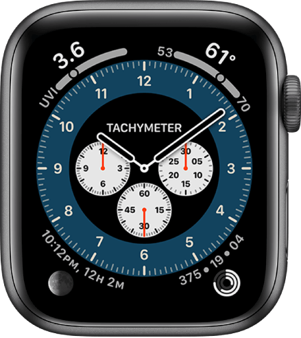 Chronograph Pro one of the best watch faces for Apple Watch