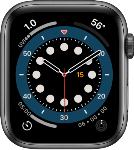 count up is one of the best watch faces for Apple Watch