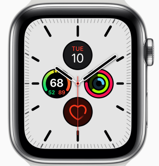 Meridian is one of the best watch faces for Apple Watch