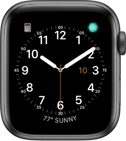simple is one of the best watch faces for Apple Watch