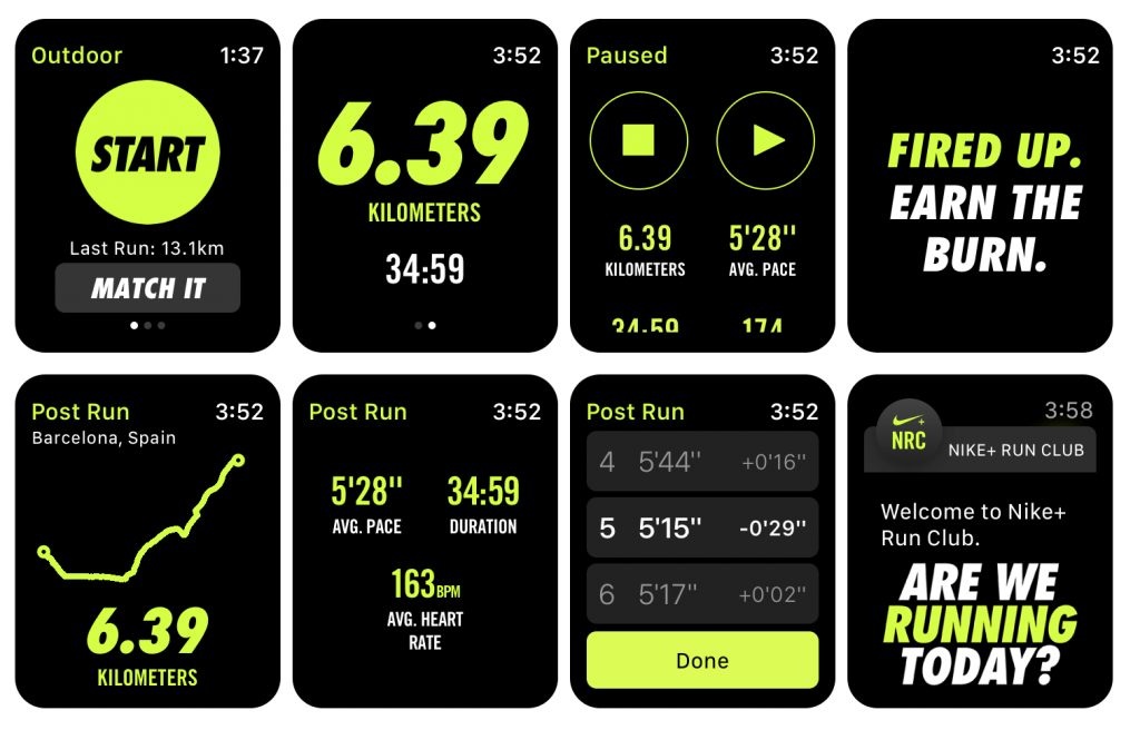 Monitor all your health activities with Nike Run Club