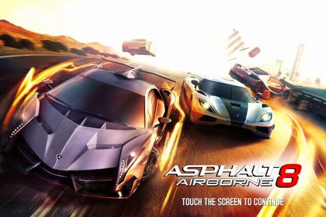 Asphalt 8 Best Android games for Chromebook