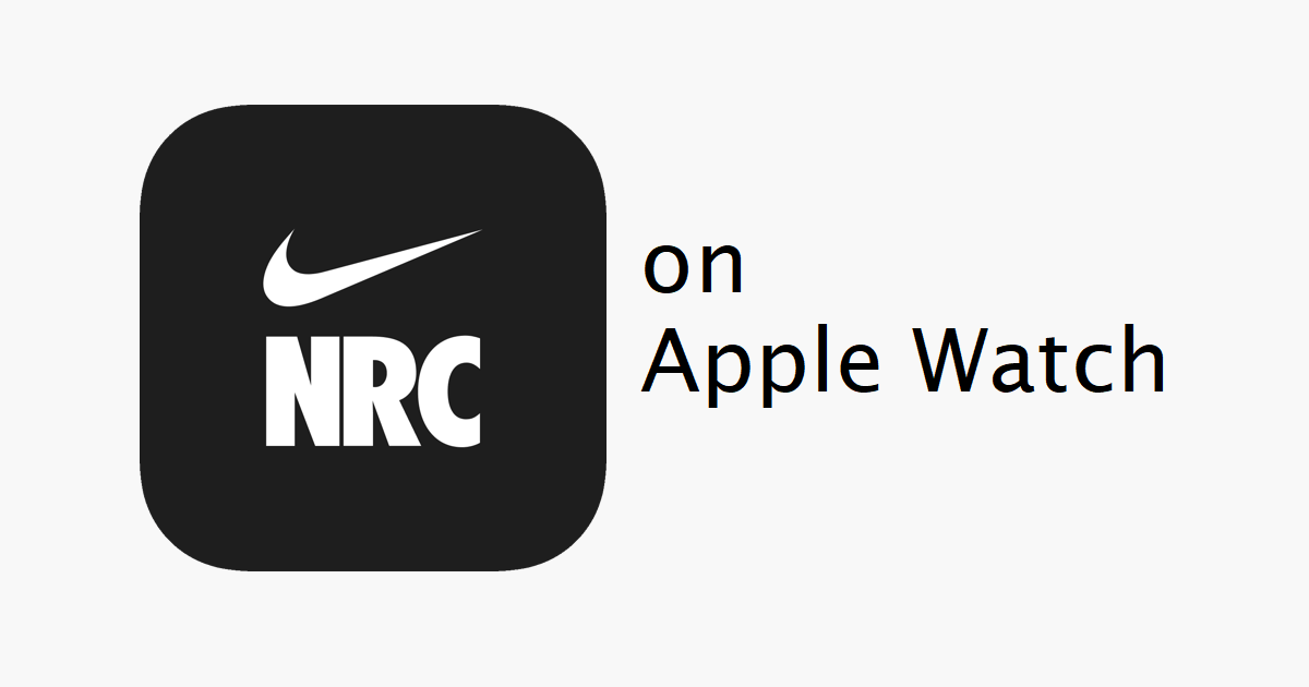 How to Install and Use Nike Run Club on Apple Watch
