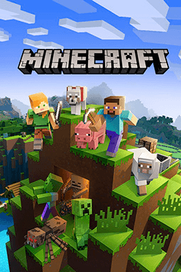 Minecraft is one of the best split screen Xbox One games