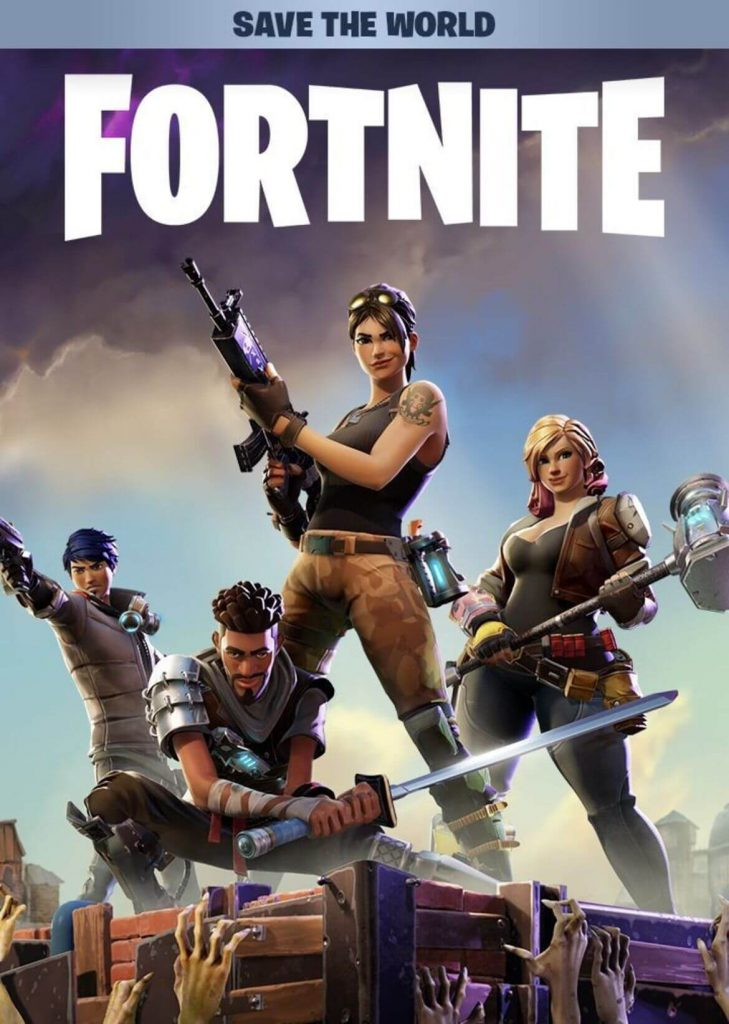 Fortnite is one of the best split screen Xbox One games
