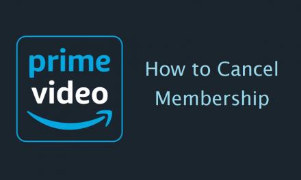 How to Cancel Amazon Prime Video Membership