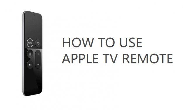 How to Use Apple TV Remote on Apple TV [Complete Guide]