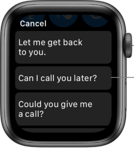 turn on the digital crown to text on apple watch
