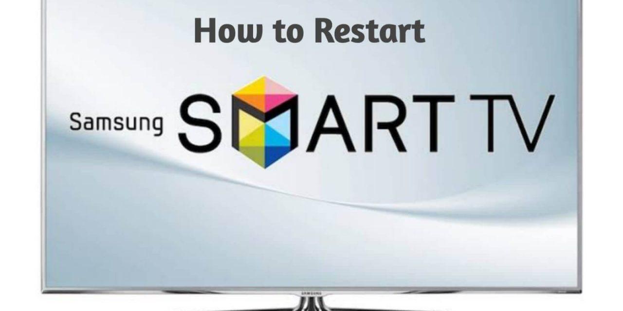 How to Restart Samsung Smart TV [All Models] | Easy Guide