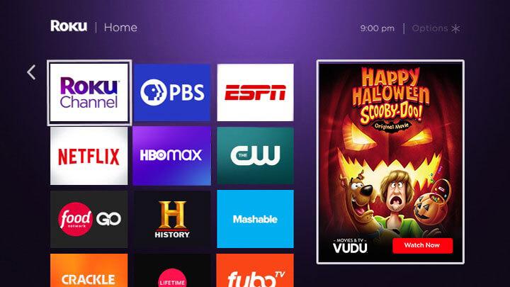 roku ultra streaming apps