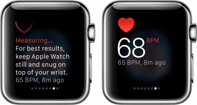 How to monitor heart rate on Apple watch