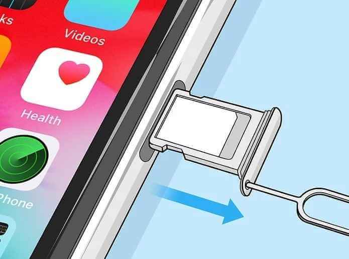 Insert or Remove the SIM - How To Open SIM Card Slot On iPhone